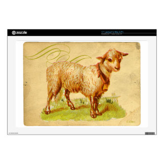 "Victorian Goat 17"" Laptop Decal"