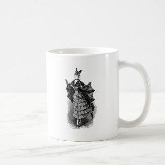 Victorian/Gothic Batgirl/Bat Costume Coffee Mug