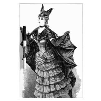 Victorian/Gothic Batgirl/Bat Costume Dry Erase Board