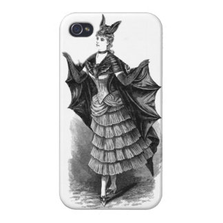 Victorian/Gothic Batgirl/Bat Costume iPhone 4/4S Cover