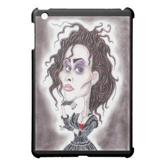 Victorian Gothic Dark Caricature Drawing Tablet iPad Mini Cases