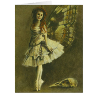 Victorian Gothic Fairy Large Greetings Card