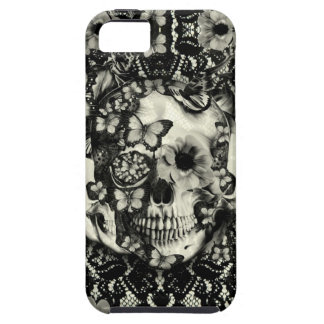 Victorian gothic lace skull iPhone SE/5/5s case