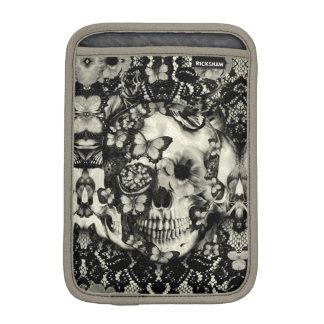Victorian Gothic lace skull Sleeve For iPad Mini