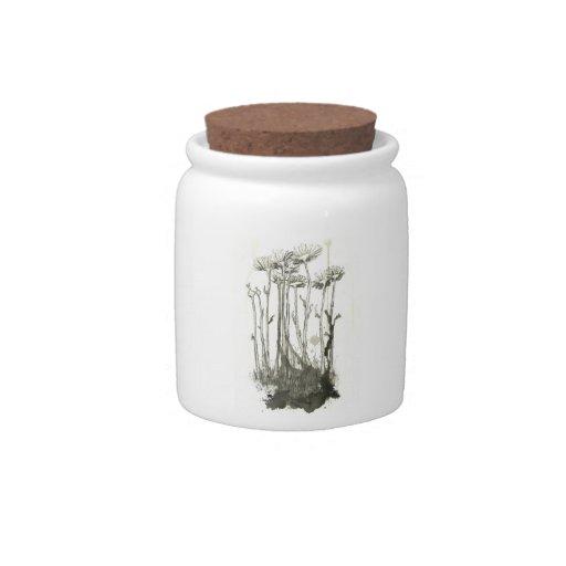 Victorian Gravestone Candy Jar