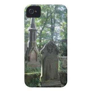 Victorian Gravestones at the Bronte Parsonage iPhone 4 Case-Mate Case