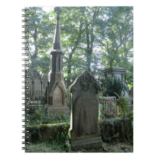 Victorian Gravestones at the Bronte Parsonage Notebook
