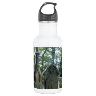 Victorian Gravestones at the Bronte Parsonage Stainless Steel Water Bottle