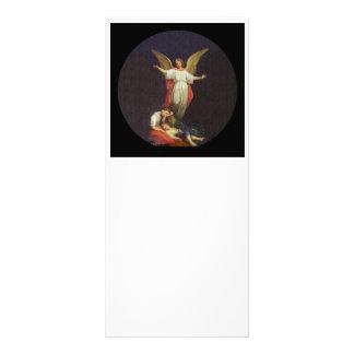 Victorian Guardian Angel Rack Card