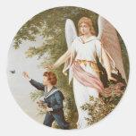 Victorian Guardian Angel Stickers