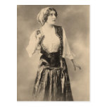 Victorian Gypsy Postcard