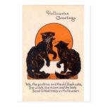 Victorian Halloween Card 027 Postcard