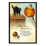 Victorian Halloween Card 066 Postcards