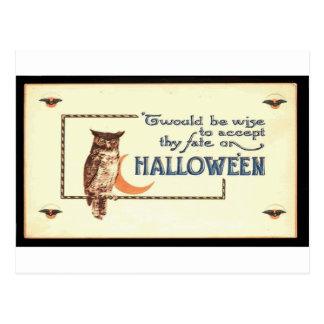 Victorian Halloween Card 167