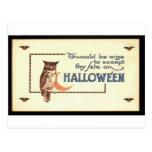 Victorian Halloween Card 167 Postcards