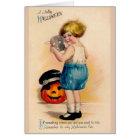 Victorian Halloween Fun Greeting Card