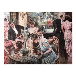 Victorian Halloween Party Postcards