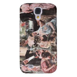 Victorian Halloween Party Samsung Galaxy S4 Cover