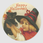 Victorian Halloween Stickers