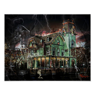 Victorian Haunted House #1 Poster