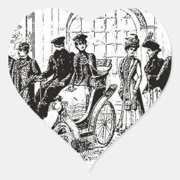 Victorian Heart Sticker