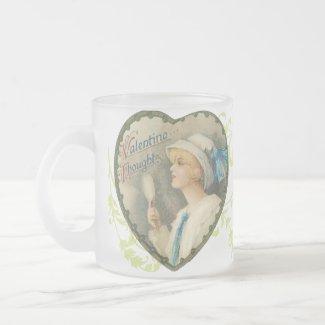 Victorian Heart Valentine's Mug mug
