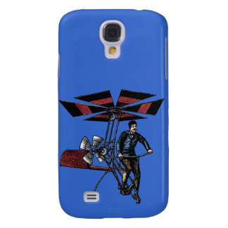 Victorian Helicopter Aircraft Contraption Samsung Galaxy S4 Case
