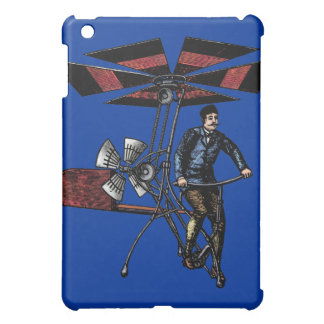 Victorian Helicopter Aircraft Contraption iPad Mini Covers