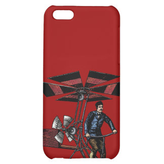 Victorian Helicopter Aircraft Contraption iPhone 5C Cover