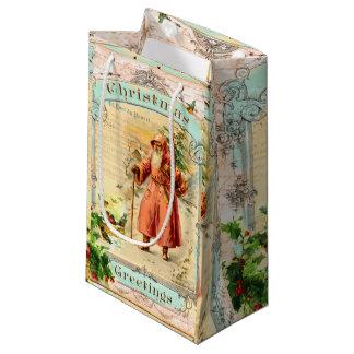 Victorian Holiday Small Gift Bag