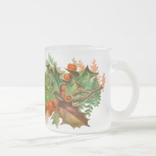 Victorian Holly Christmas Mug