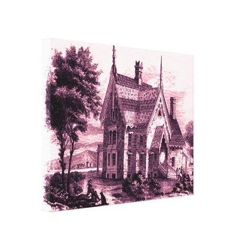 Victorian Home Canvas Print
