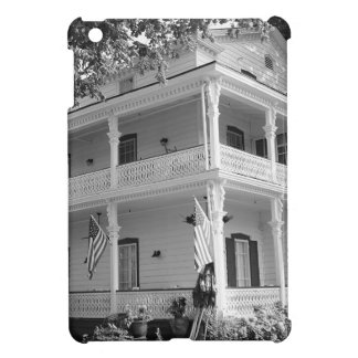 Victorian Home in Black & White iPad Mini Cases