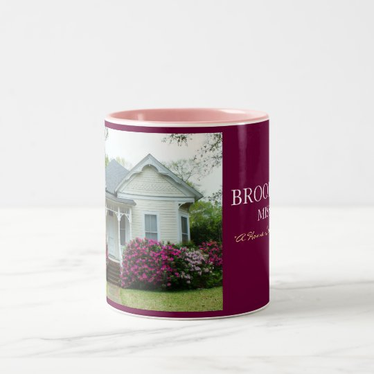 Victorian Home in Brookhaven, Mississippi Two-Tone Coffee Mug