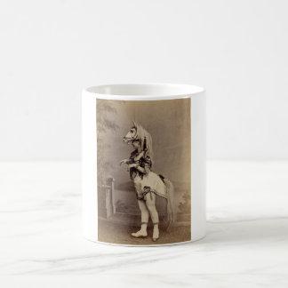 Victorian Horse Costume Daguerreotype/Photo Coffee Mugs