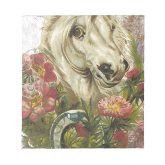 Victorian Horse Notepad