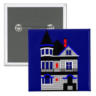 Victorian House Button