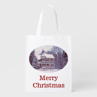 Victorian House Grocery Bag