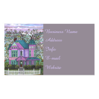 Victorian House Home Realty Realtor Real Estate Business Card