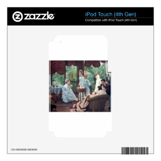 Victorian House Party Tea Fashion Tissot Decal For iPod Touch 4G