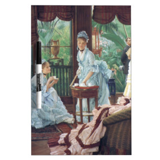 Victorian House Party Tea Fashion Tissot Dry-Erase Board