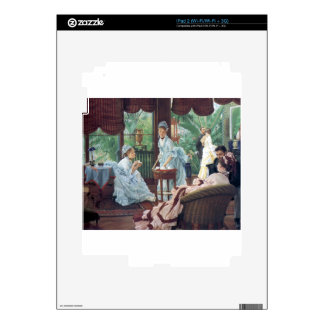 Victorian House Party Tea Fashion Tissot iPad 2 Decals
