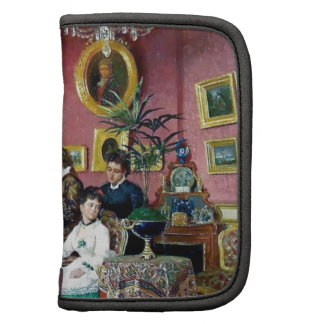 Victorian House Party Women Men Music painting Planners