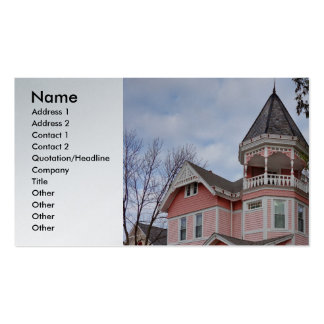 Victorian houses Double-Sided standard business cards (Pack of 100)