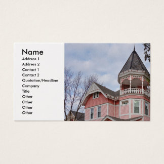 Victorian houses business card