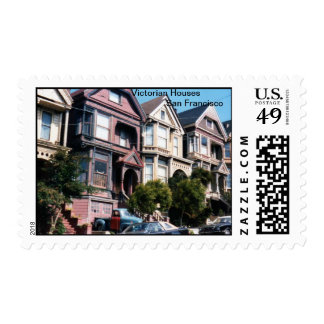 Victorian Houses of San Francisco Postage