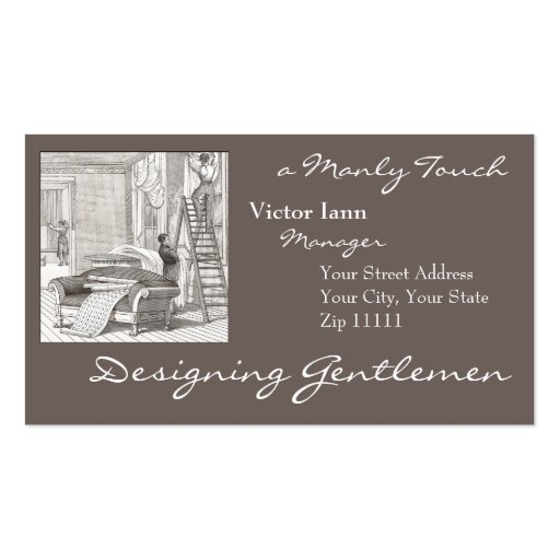 Upholstery Business Card Templates Page2 Bizcardstudio