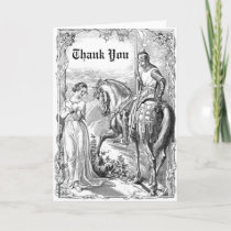 Victorian Knight Thank You Card