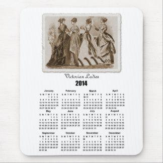 Victorian Ladies 2014 Calendar Mousepad