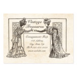 Victorian Ladies Large Business Cards (Pack Of 100)